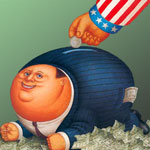 Corporate Welfare Piggy Bank