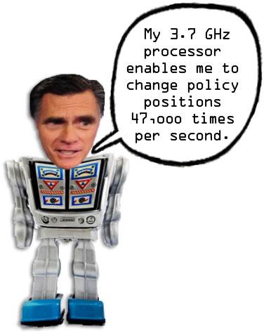 Mitt Romney Android Robot
