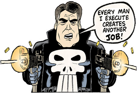 rick perry executioner comic book character