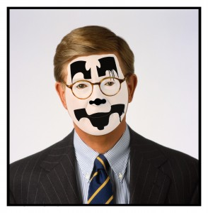 Image of George Will wearing Mask
